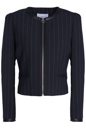 CLAUDIE PIERLOT Striped twill jacket