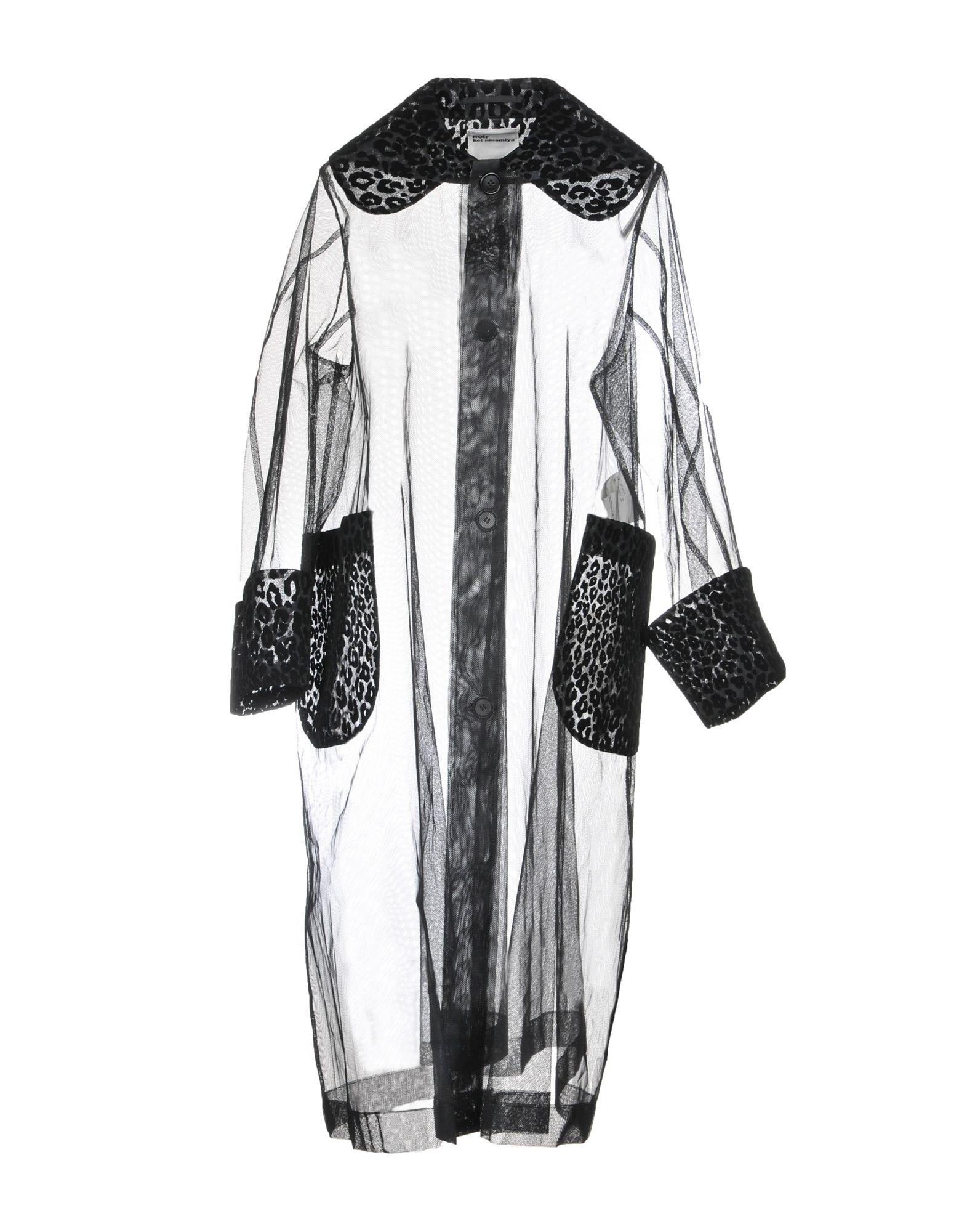 NOIR KEI NINOMIYA Overcoats in Black