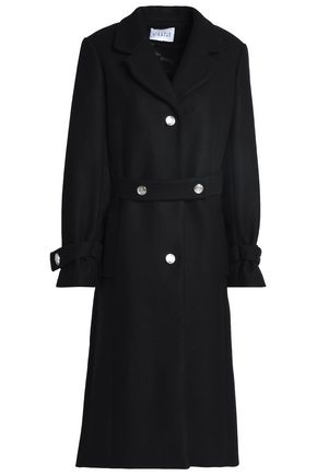 CLAUDIE PIERLOT Wool-blend felt coat