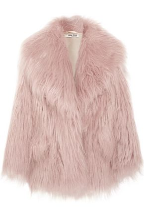 MIU MIU Faux fur jacket