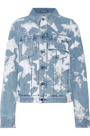 GIVENCHY Bleached denim jacket