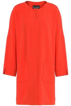 BOUTIQUE MOSCHINO Crepe coat