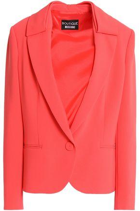 BOUTIQUE MOSCHINO Crepe blazer