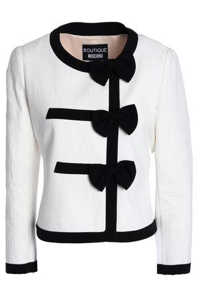 BOUTIQUE MOSCHINO Cotton-blend jacquard jacket