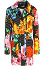 LOVE MOSCHINO Printed cotton-blend jacket