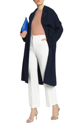 CEDRIC CHARLIER Crepe trench coat