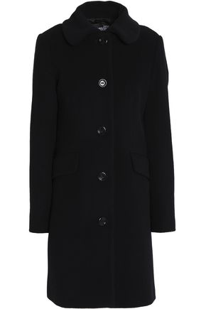 LOVE MOSCHINO Wool-blend felt coat