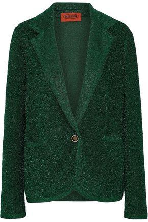 MISSONI Metallic stretch-knit blazer