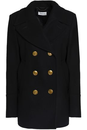 COACH Double-breasted wool-blend felt coat