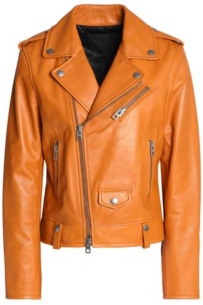 COACH Leather biker jacket