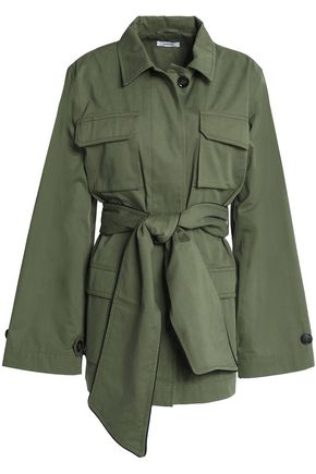 GANNI Cotton-gabardine jacket