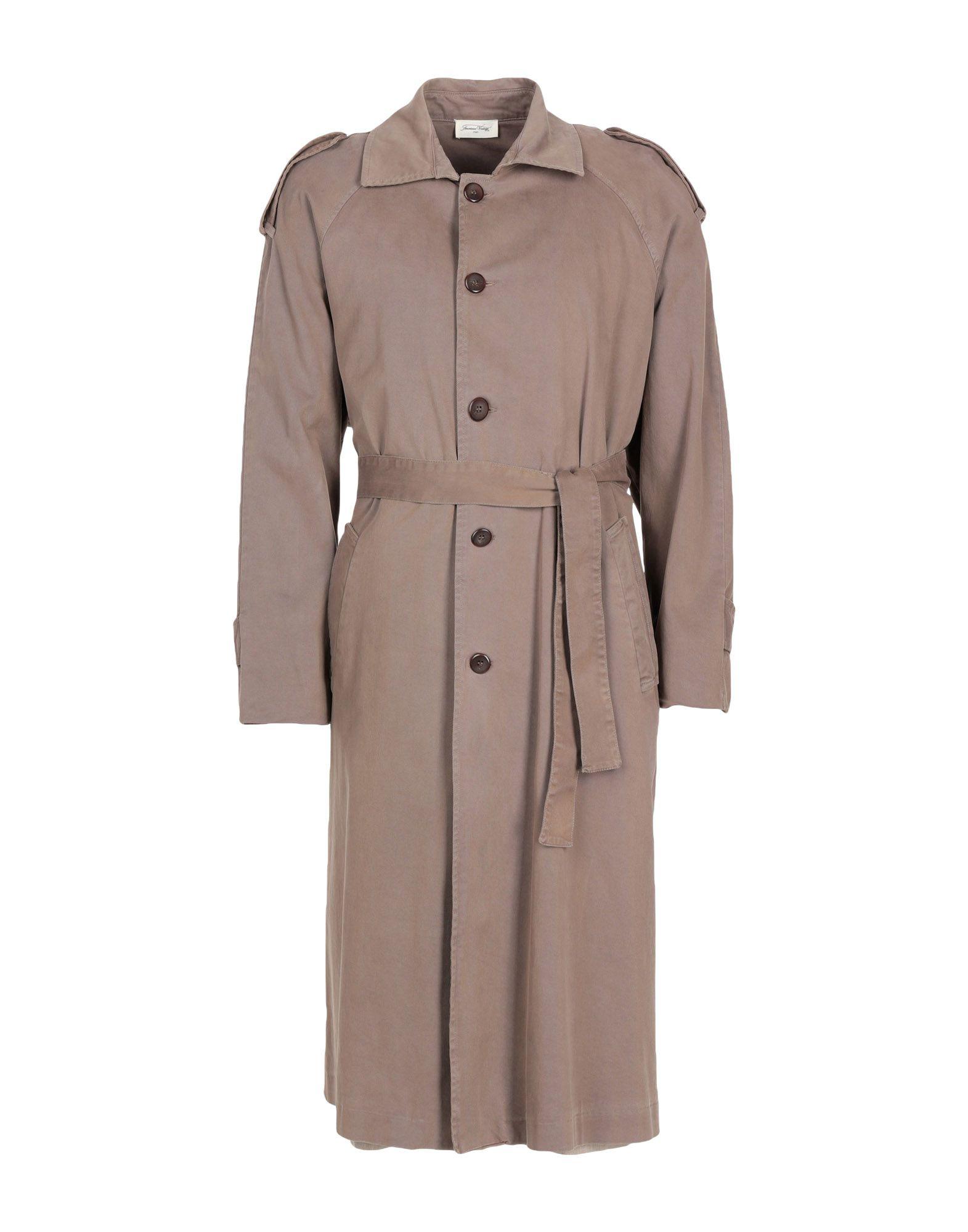 AMERICAN VINTAGE Full-Length Jacket in Khaki