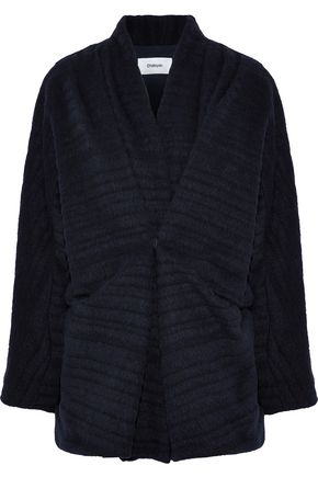 CHALAYAN Ribbed wool-blend jacket