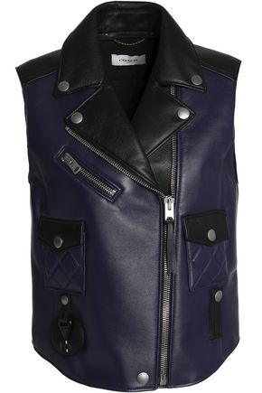 COACH Quilted leather vest