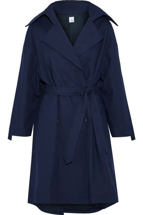 IRIS & INK Morgan cotton-canvas trench coat