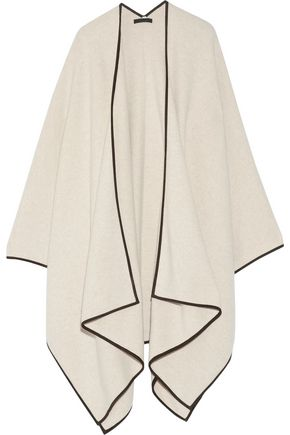 THE ROW Merino wool and cashmere-blend cape