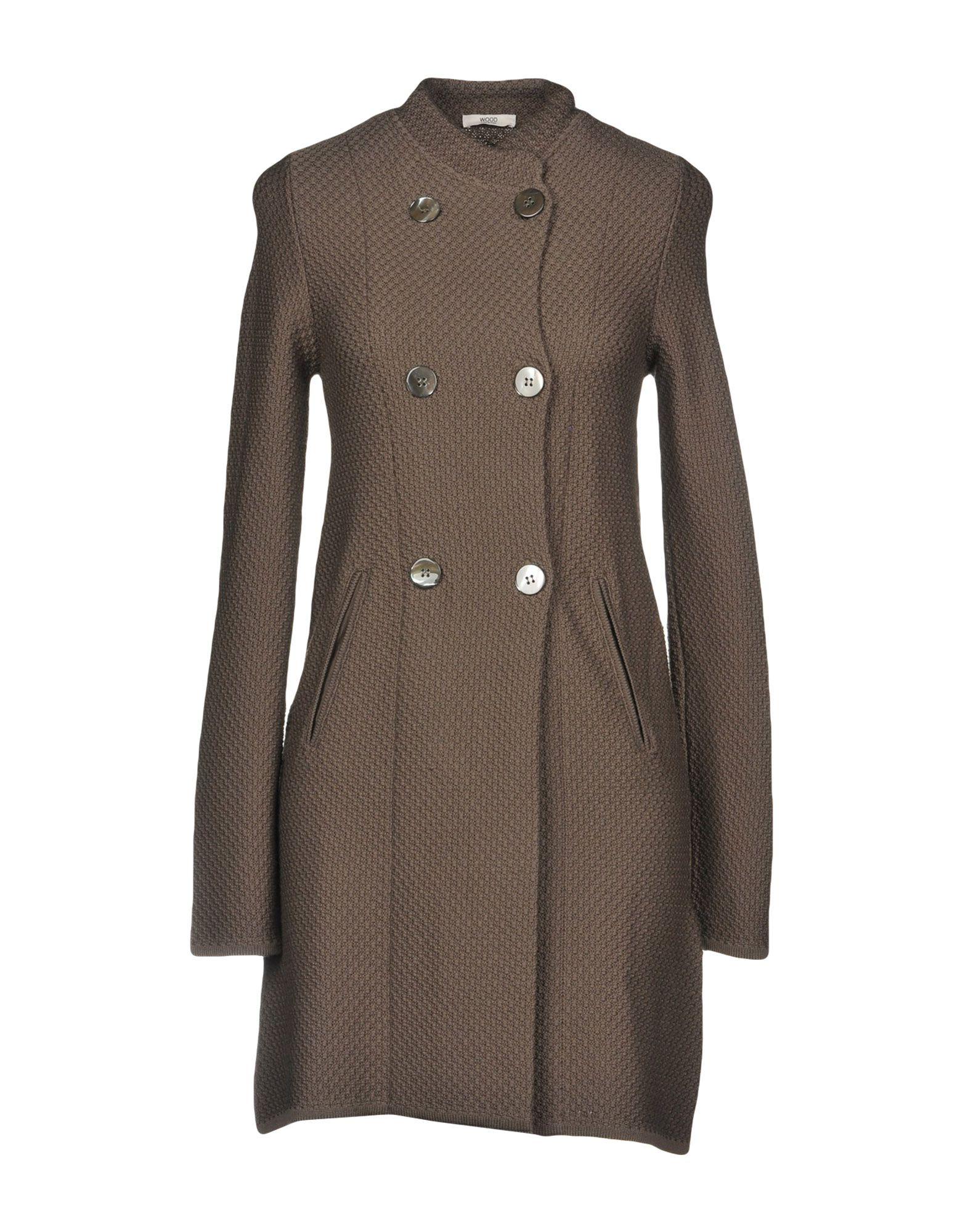 WOOD Легкое пальто wood пиджак