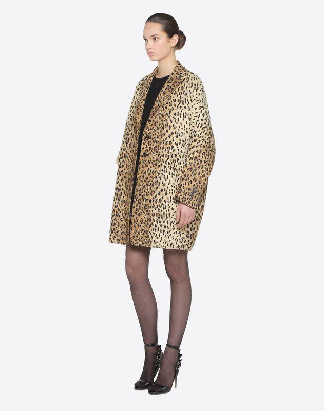 Wild Leopard Coat