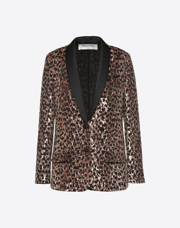 Wild Leopard Embroidered Jacket