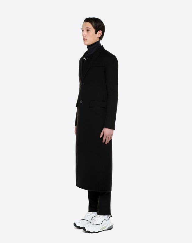 DOUBLE-FACED WOOL AND CASHMERE COAT