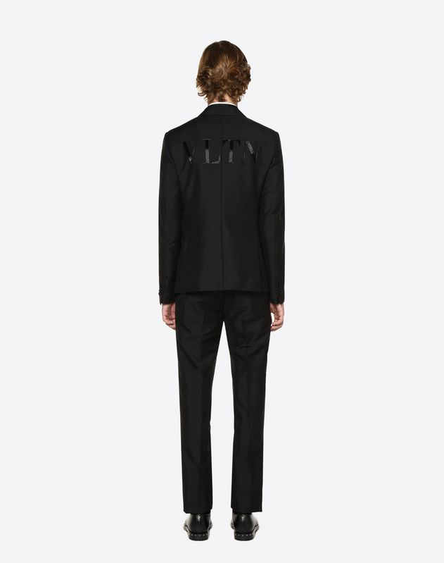 VLTN embroidery dinner jacket
