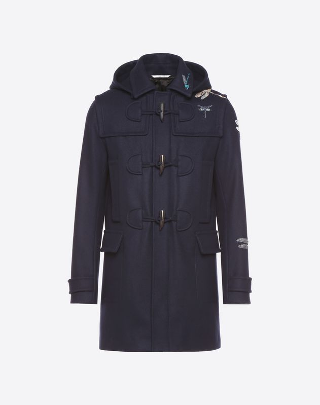 Dragonfly duffle coat