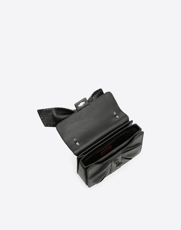 Maxi Bow Microstud Shoulder Bag