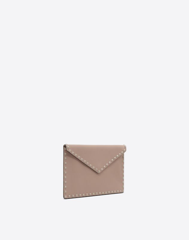 Rockstud Flat Envelope Clutch