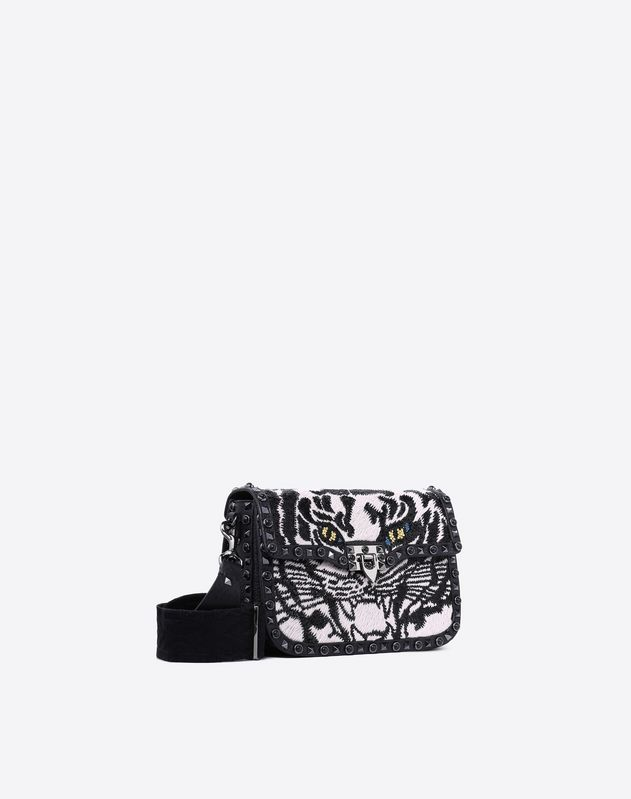 Guitar Strap embroidered Crossbody Bag
