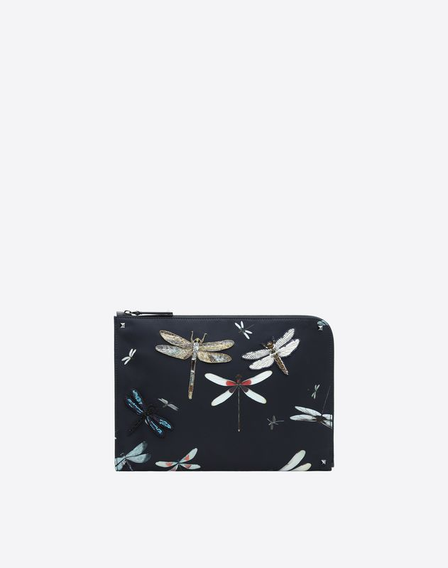 Dragonfly print document holder