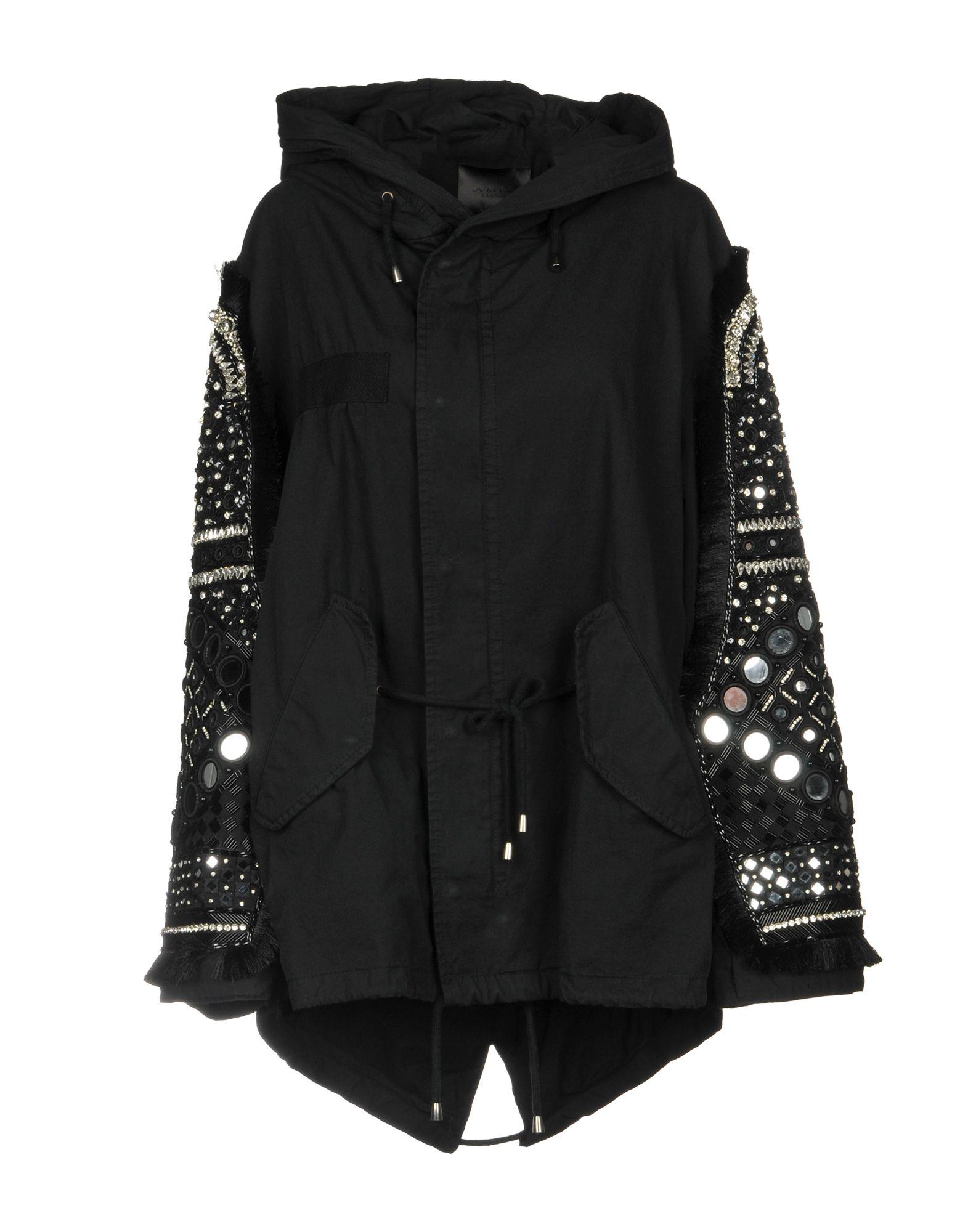 AMEN COUTURE Coat in Black