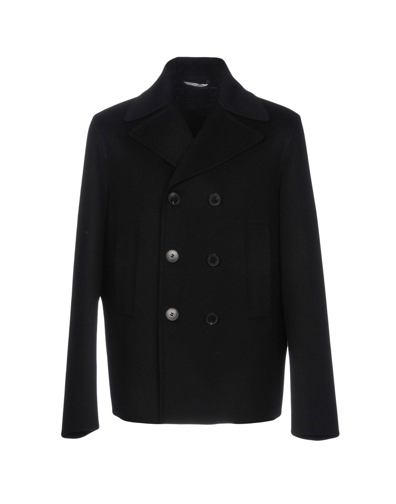 VALENTINO Пальто 2016 осенью дамы сукно slim шерстяные пальто в длинные пальто