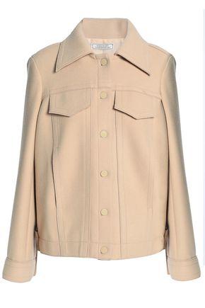 NINA RICCI Brushed stretch-wool jacket