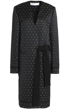 VICTORIA, VICTORIA BECKHAM Cotton and silk-blend jacquard jacket