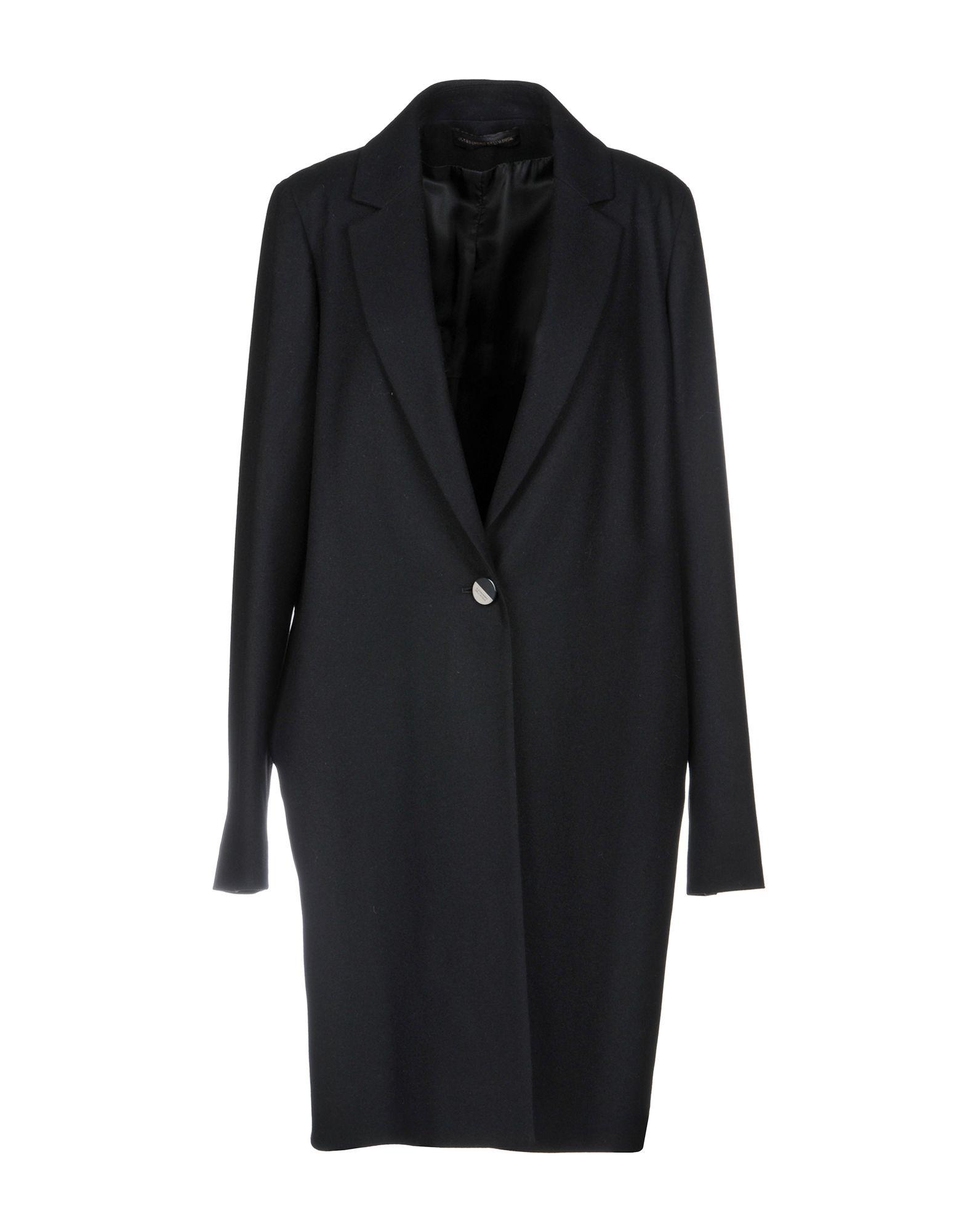 ALESSANDRO DELL'ACQUA Coat in Black