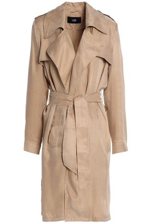 LINE Margaux washed-twill trench coat