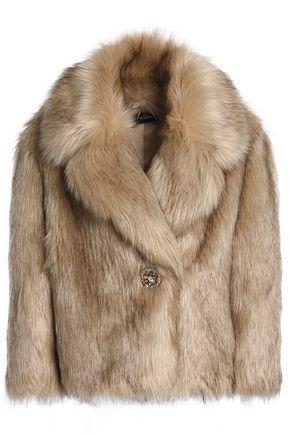 JENNY PACKHAM Faux fur coat
