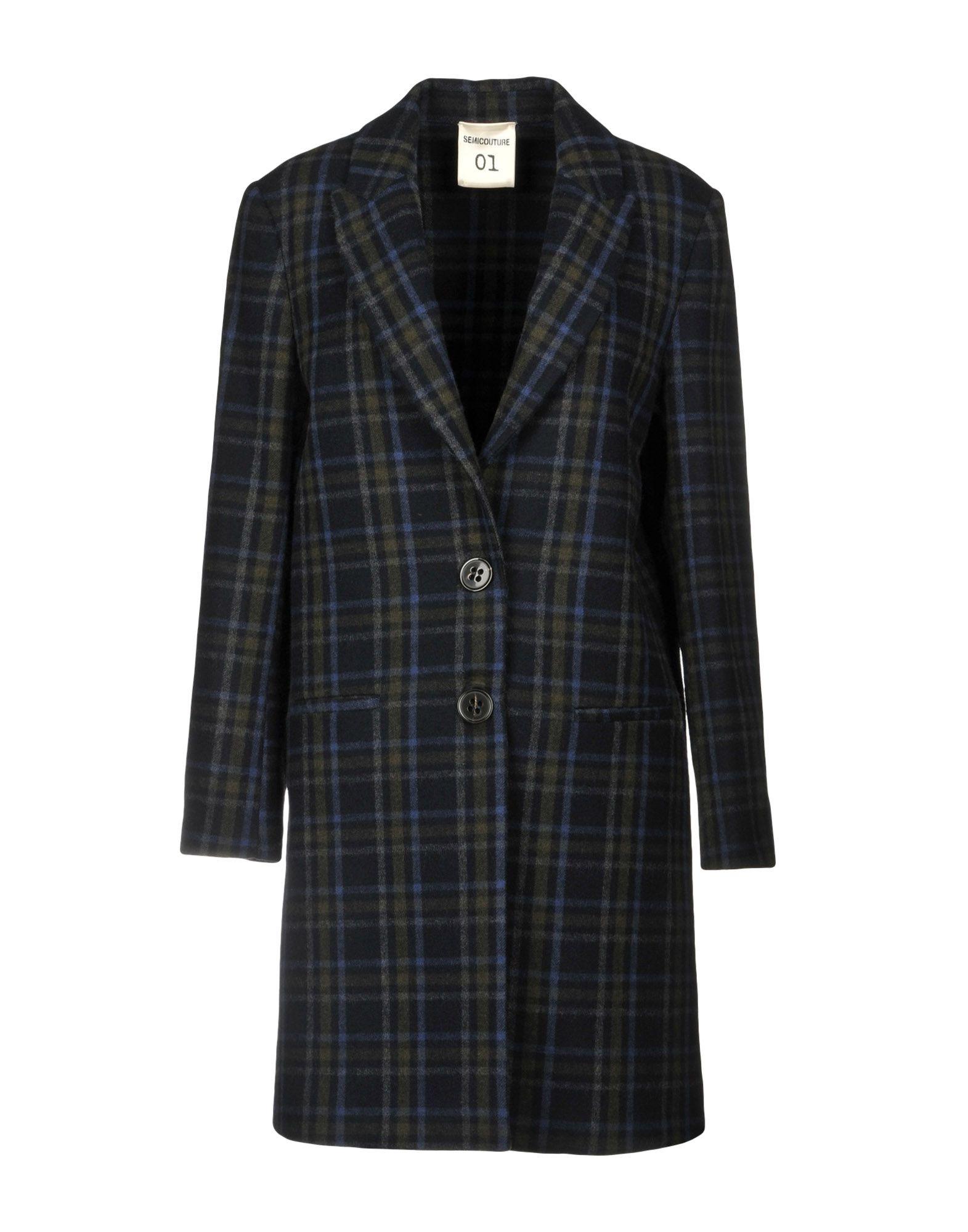 SEMICOUTURE Пальто semicouture легкое пальто