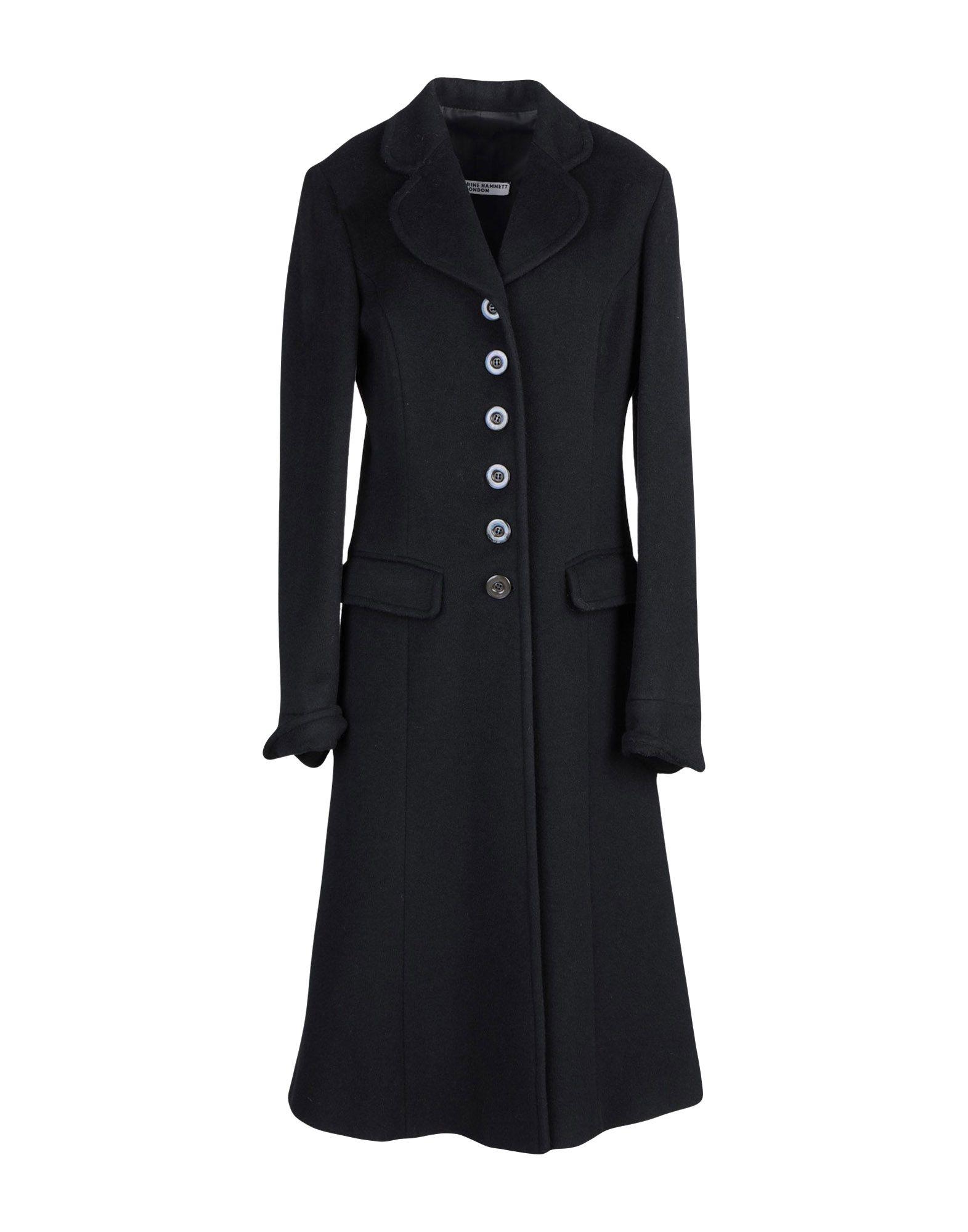 KATHARINE HAMNETT LONDON Пальто цена 2017