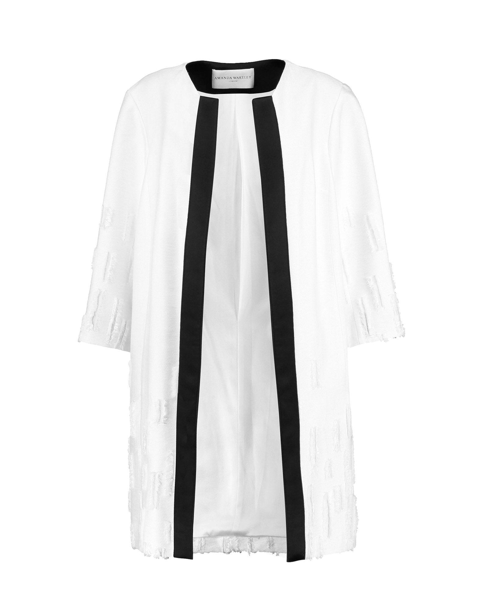 AMANDA WAKELEY Full-Length Jacket in White