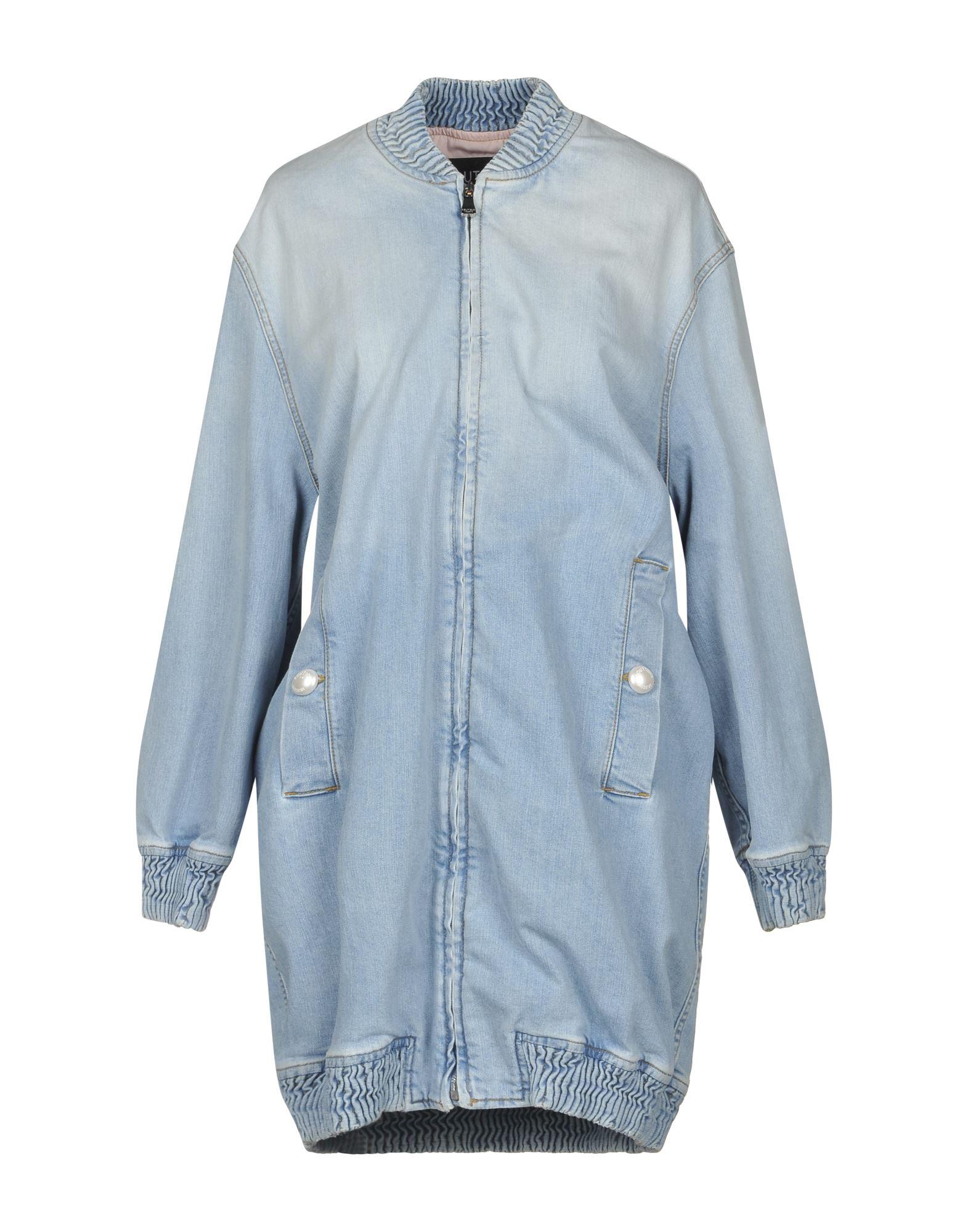 BOUTIQUE MOSCHINO Джинсовая верхняя одежда