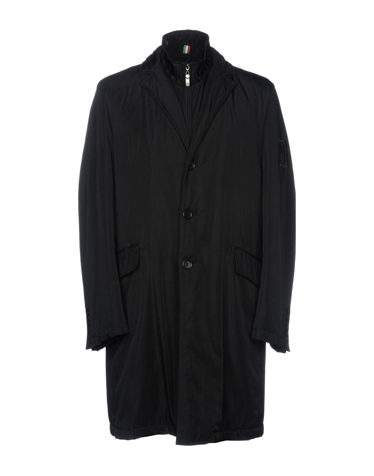 CARLO PIGNATELLI Coat in Black
