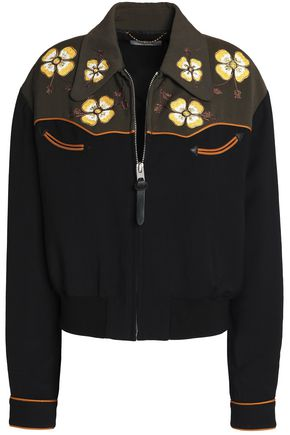 COACH Embroidered woven jacket