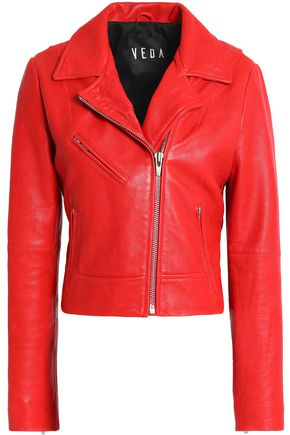 VEDA Leather biker jacket