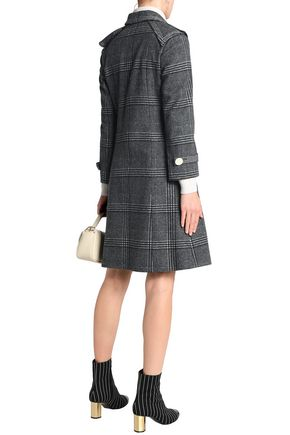 MARCO DE VINCENZO Prince of Wales checked wool coat