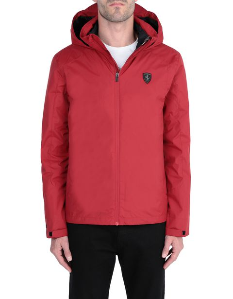 2-in-1 parka with hood and padded inner jacket