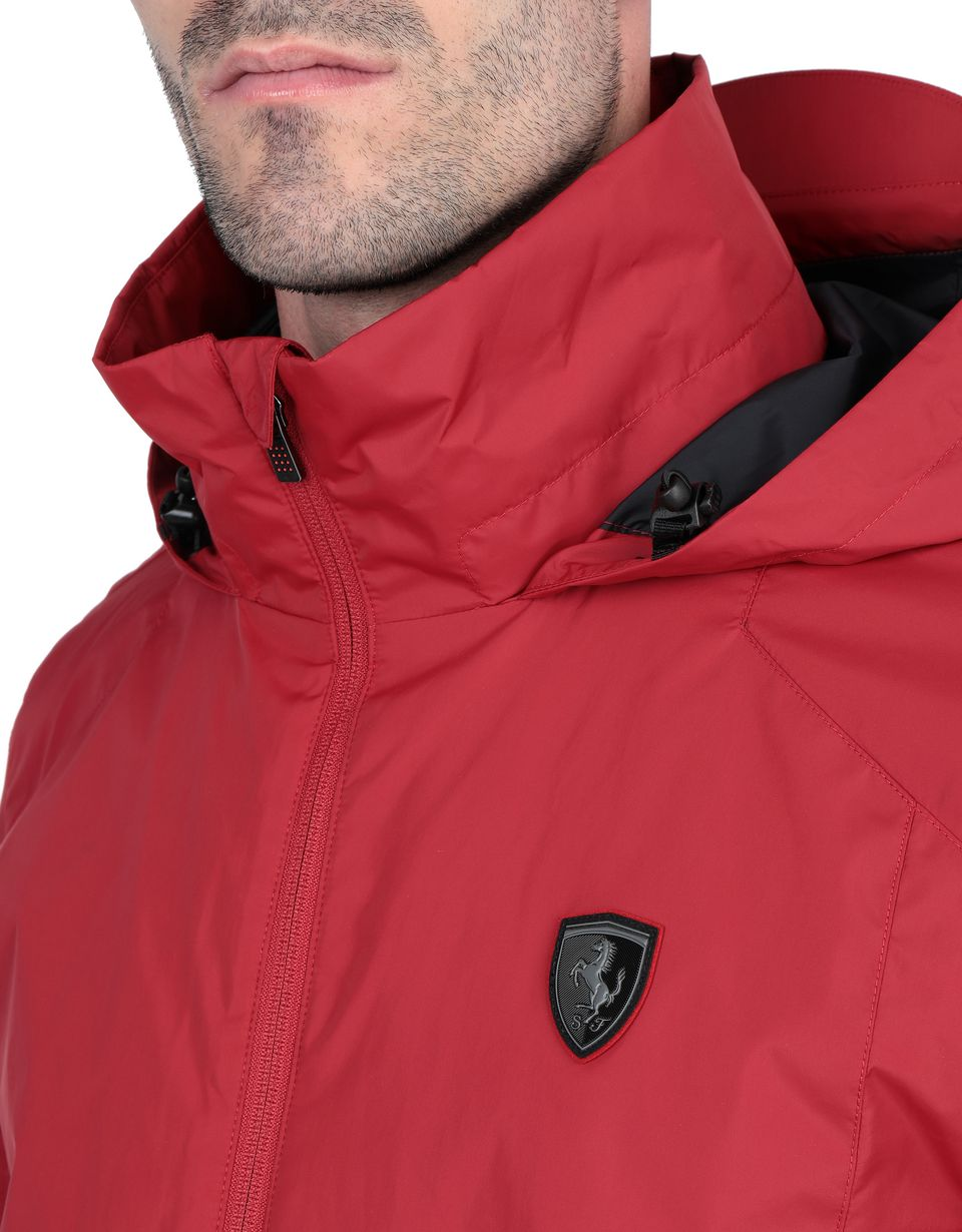 Scuderia Ferrari Online Store - 2-in-1 parka with hood and padded inner jacket - Parkas