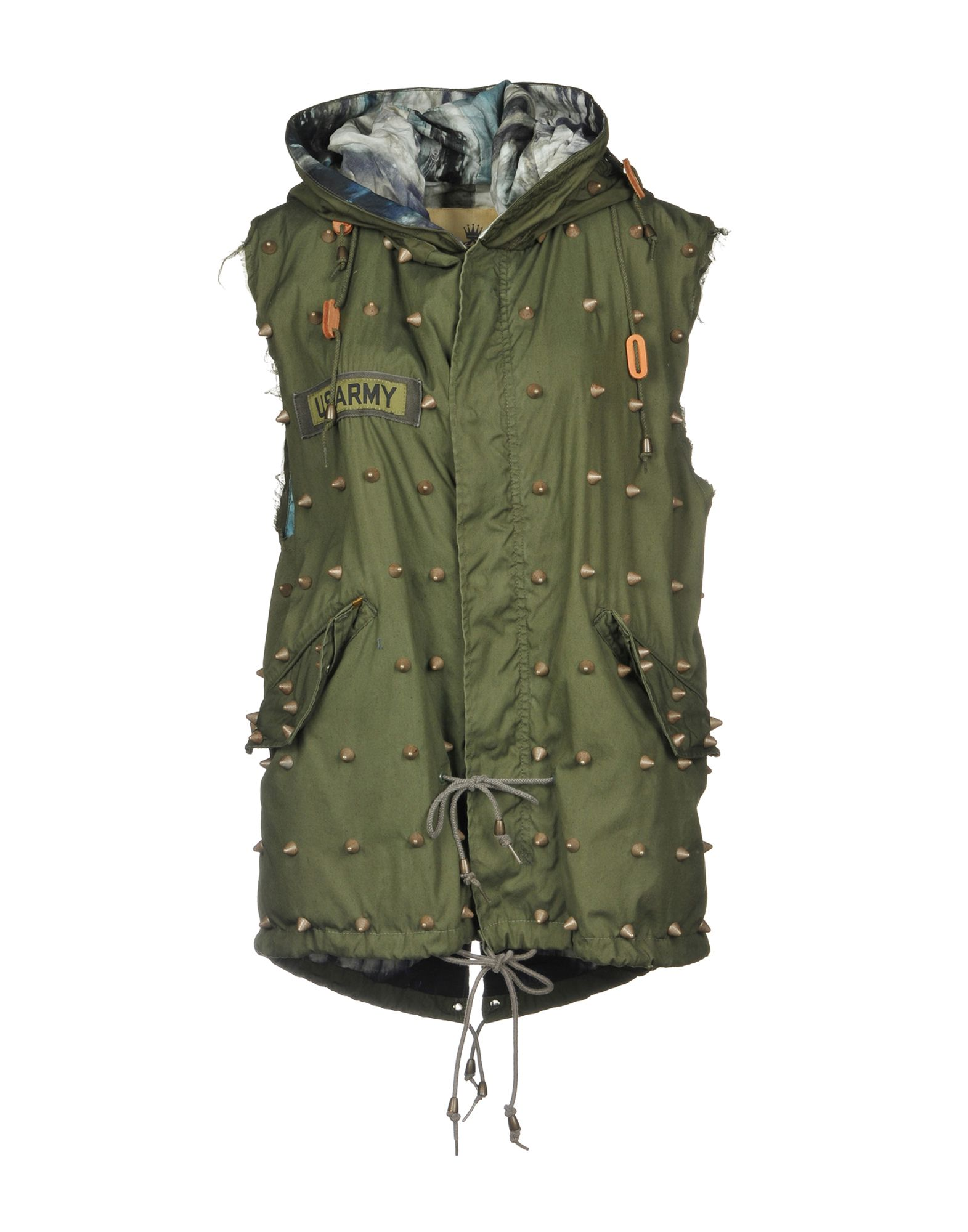 AS65 Full-Length Jacket in Military Green