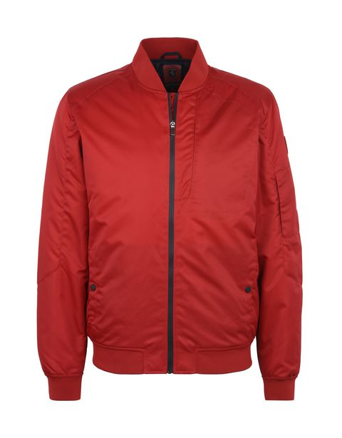 Scuderia Ferrari Online Store - Men's water-resistant bomber jacket - Bombers & Track Jackets