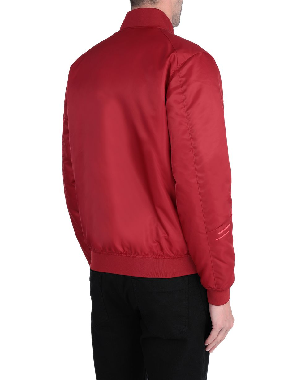 Scuderia Ferrari Online Store - Men's bomber jacket in waterproof fabric - Bombers & Track Jackets